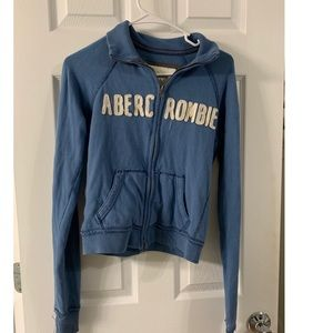 Abercrombie and Fitch Zip Up Track Jacket